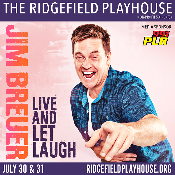 Enter to win: Jim Breuer at Ridgefield Playhouse