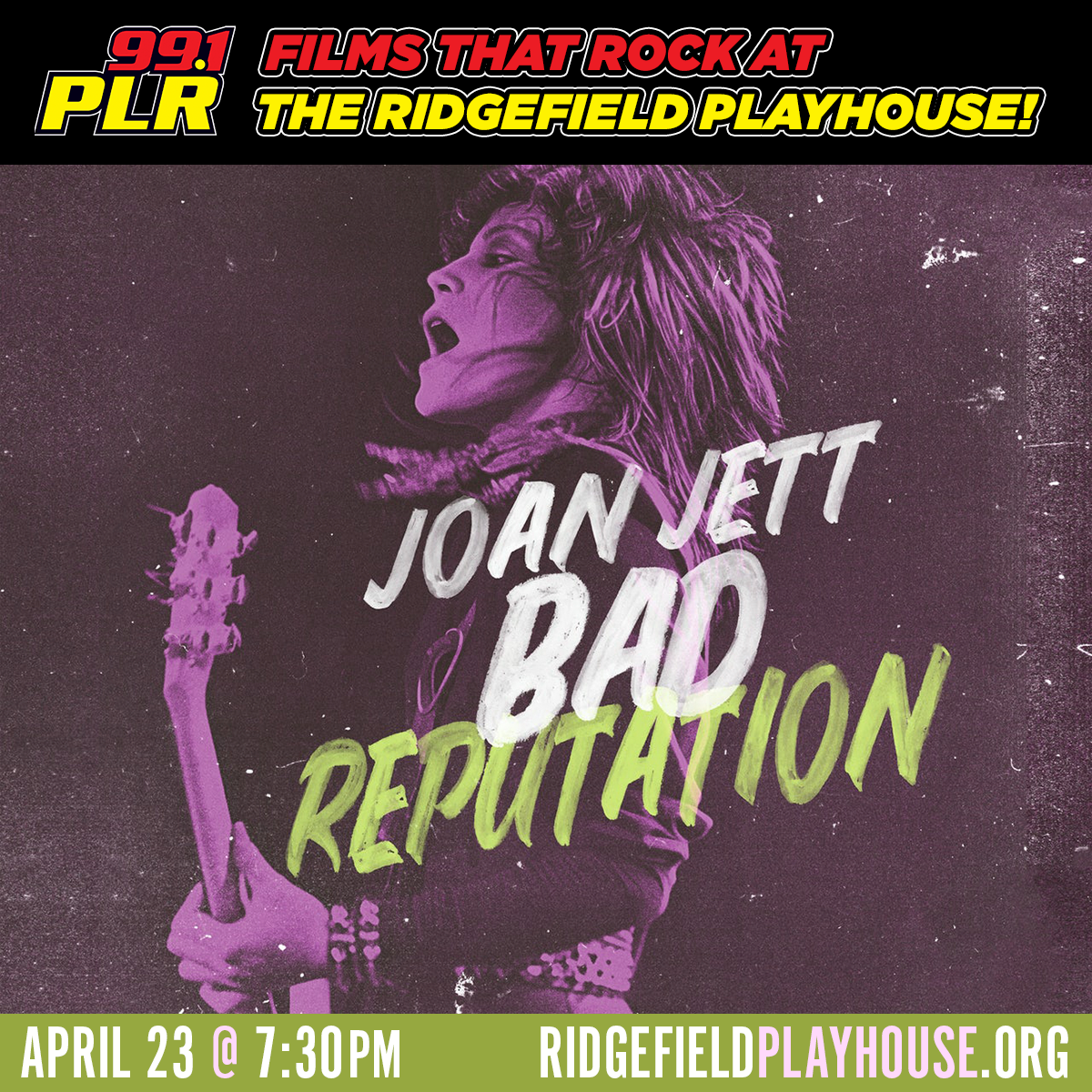 "Win tickets to ""Bad Reputation: A Joan Jett Documentary"""