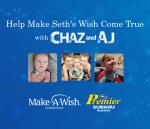 Help Chaz & AJ Make Seth's Wish Come True