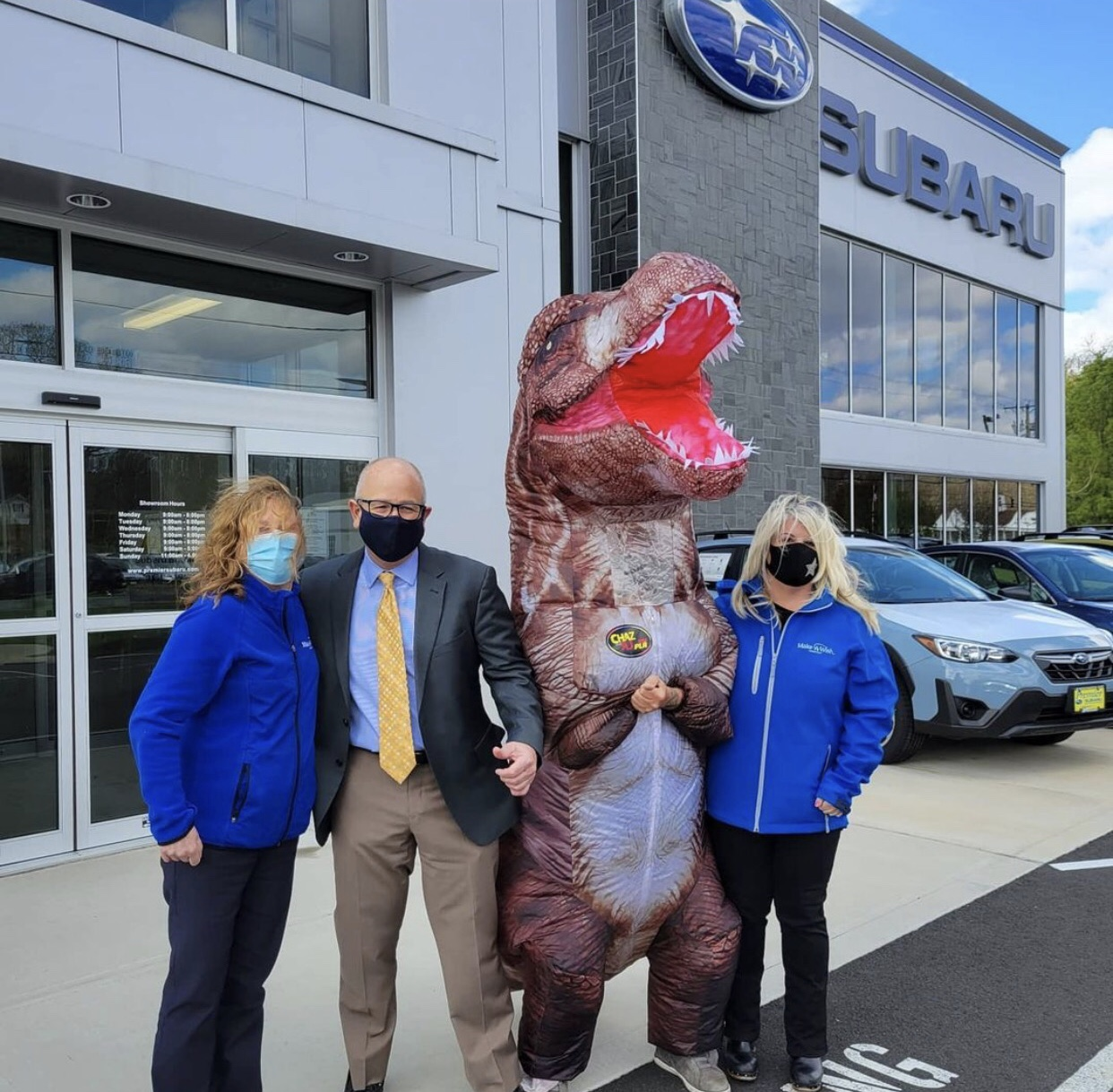 PODCAST – Thursday, April 22: AJ's Branford Make-A-Wish Godzilla Walk; Our Gifts For The Queen's Birthday; Strangest Things Found In Noses