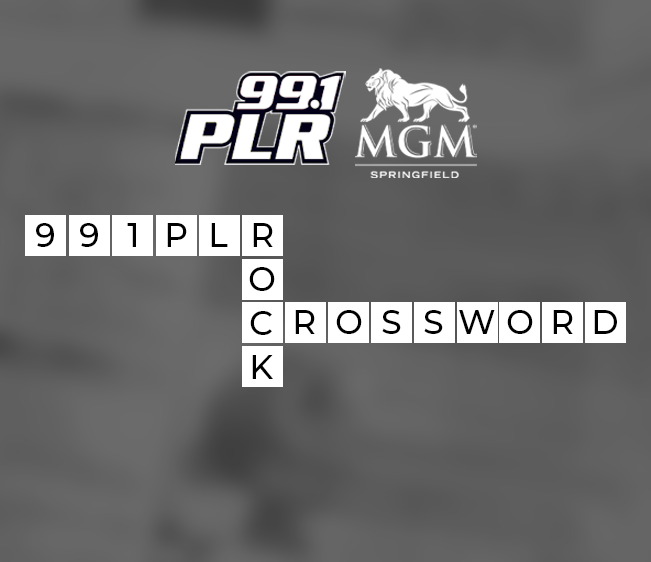 99.1 PLR MGM Springfield Rock Crossword