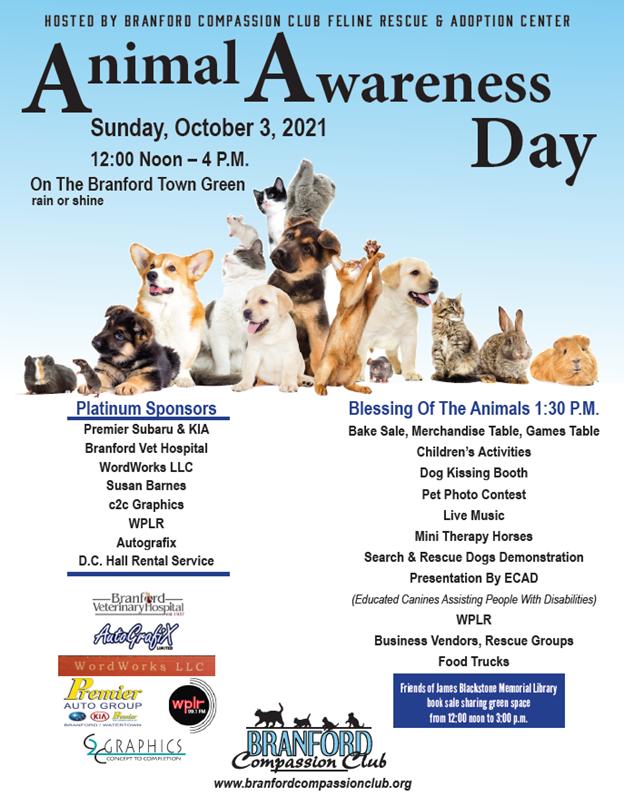 Animal Awareness Day event!