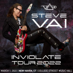 Win tickets to Steve Vai