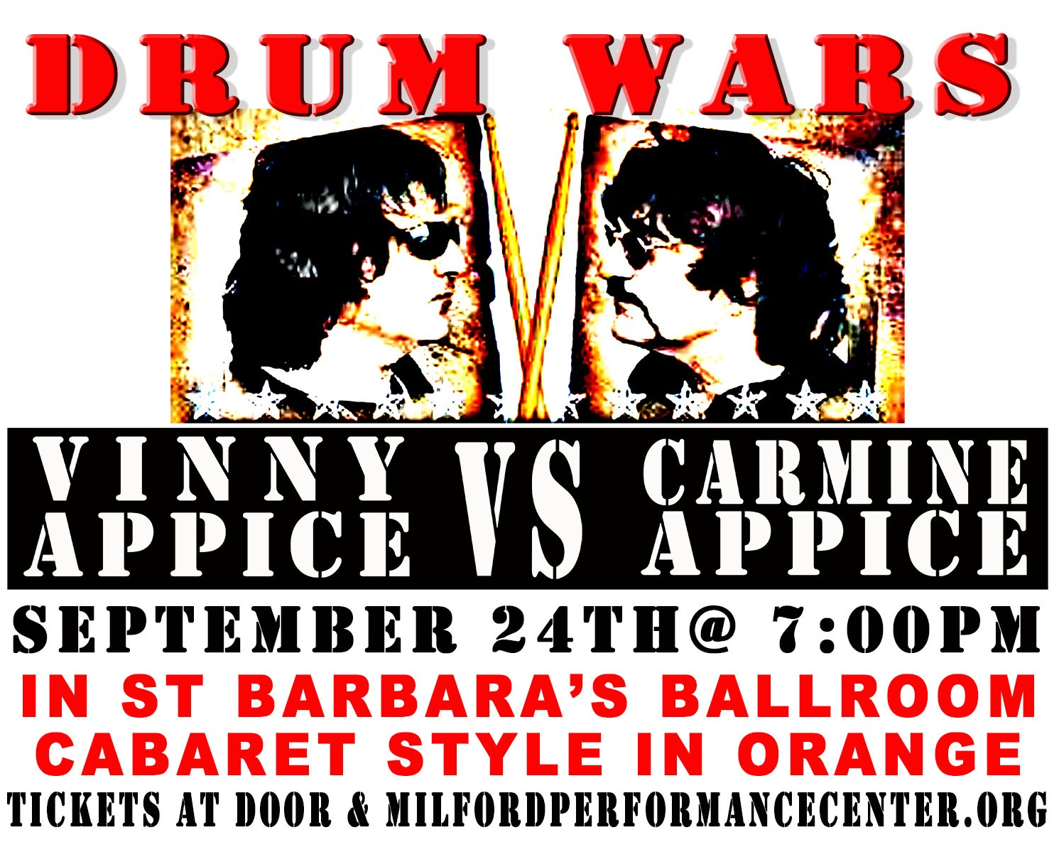 Enter to win: Drum Wars ft. Carmine & Vinny Appice