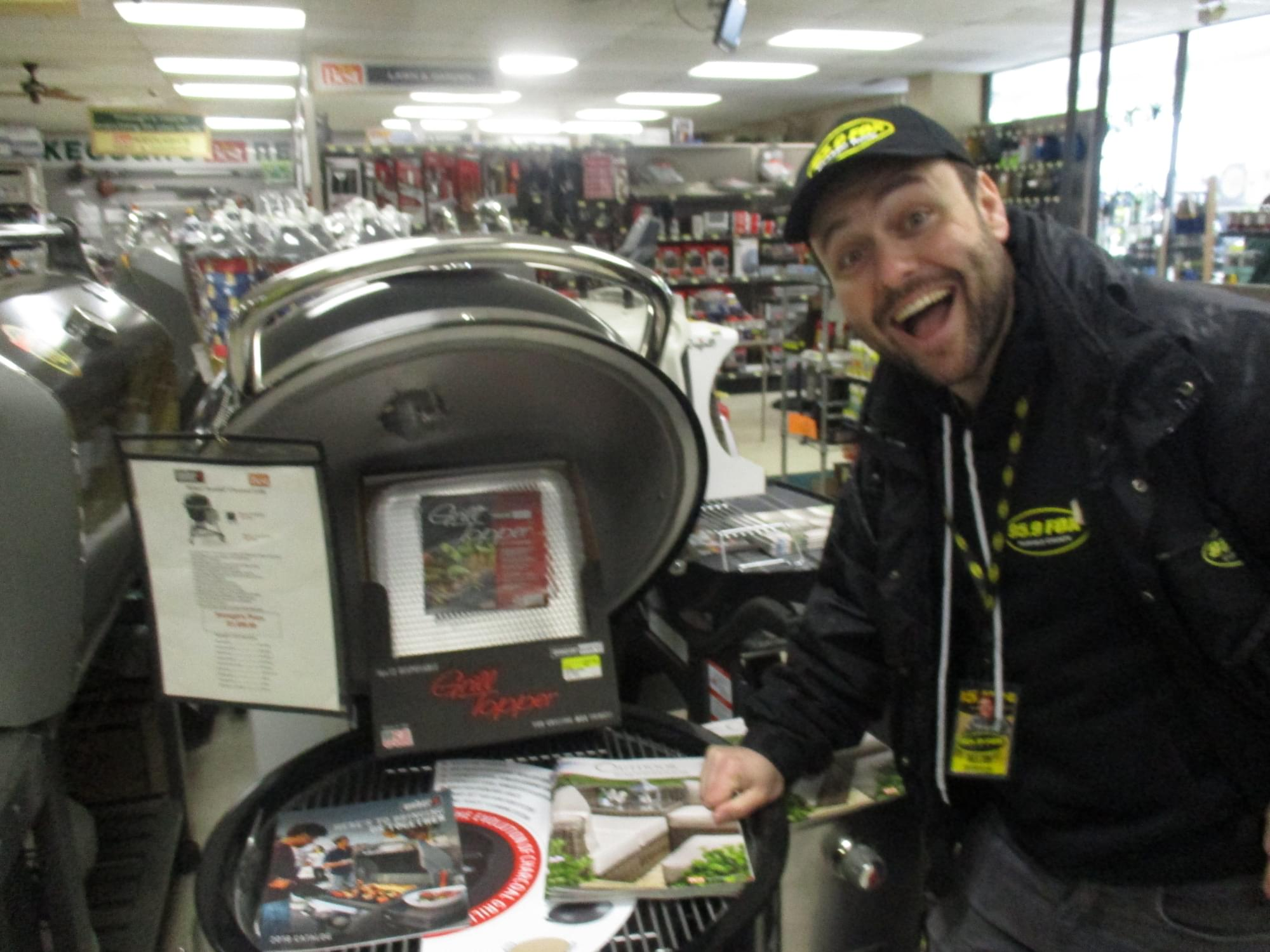 Keough's Hardware Weber Grill Demo Day