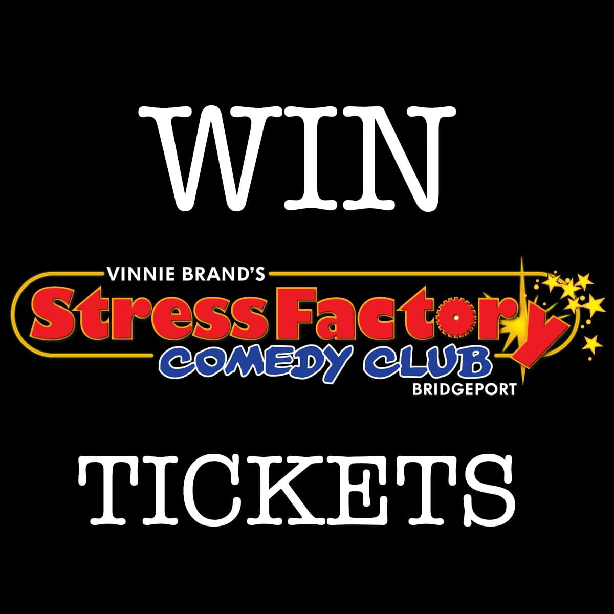 Enter to win tickets to Stavros Halkias at Vinnie Brand's Stress Factory