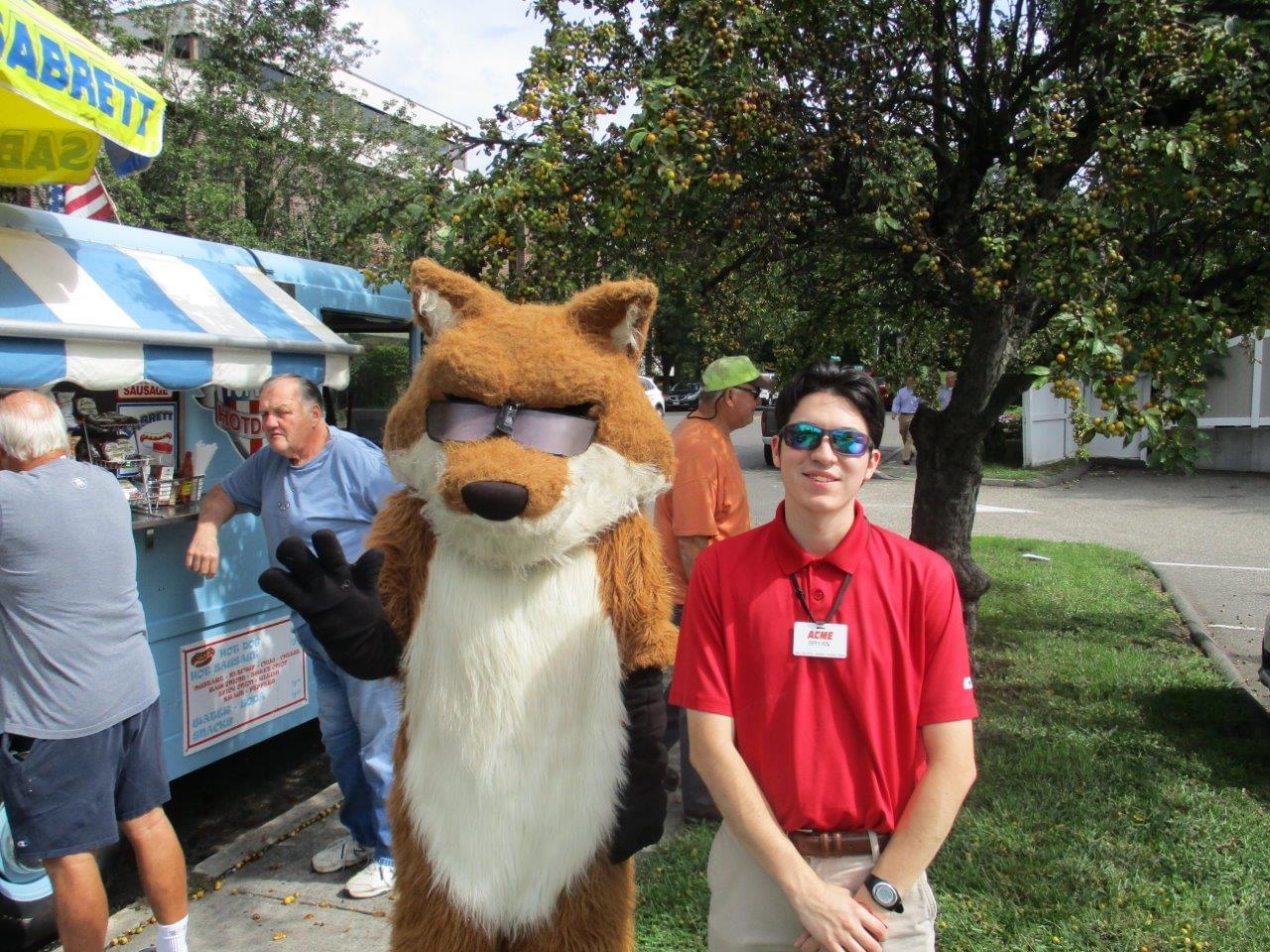 Spot the Fox 9/19/18 Stamford