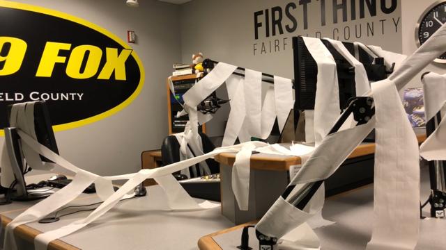 WATCH: Mischief Night In The FOX Studio