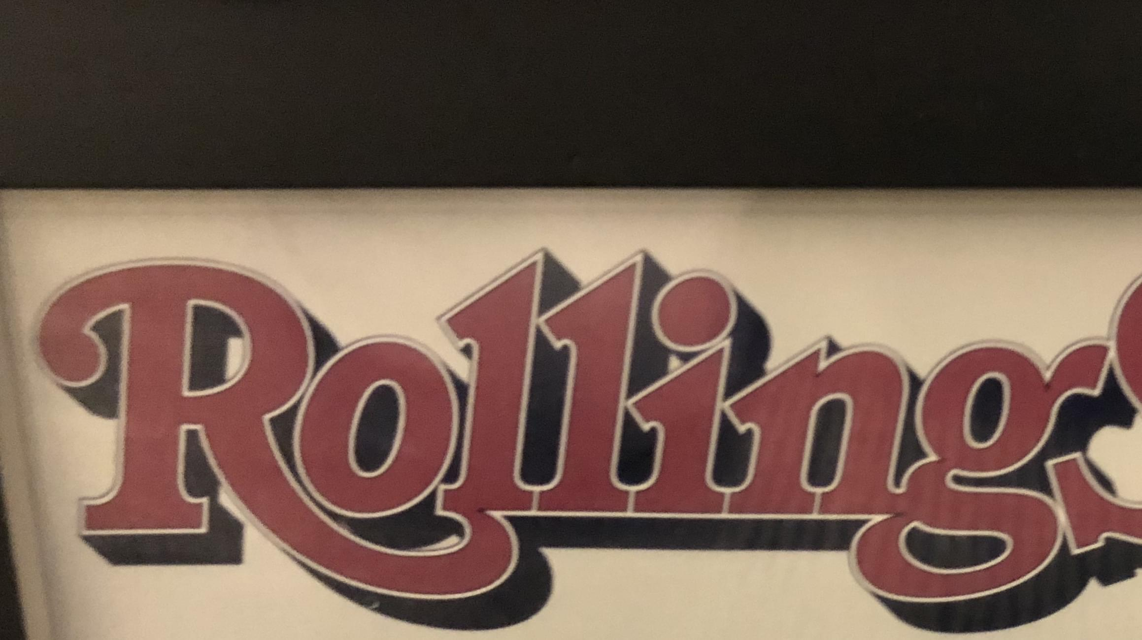 Rolling Stone Goes To Print