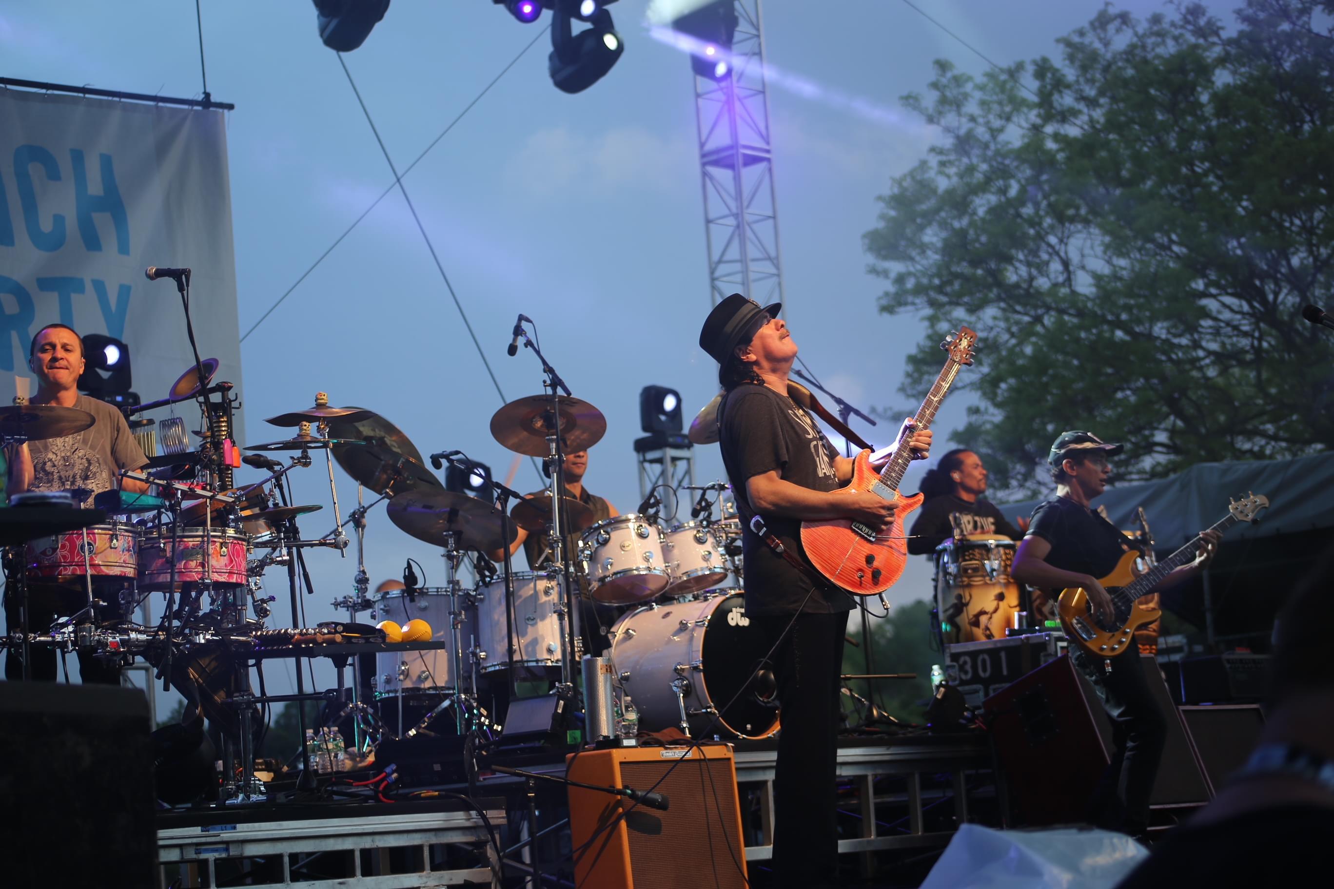 Santana Outdoes Fleetwood Mac
