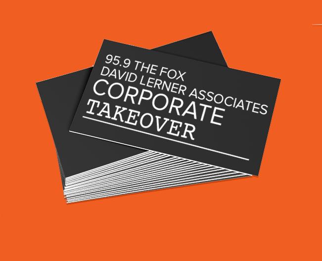 95.9 The Fox David Lerner Associates Corporate Takeover