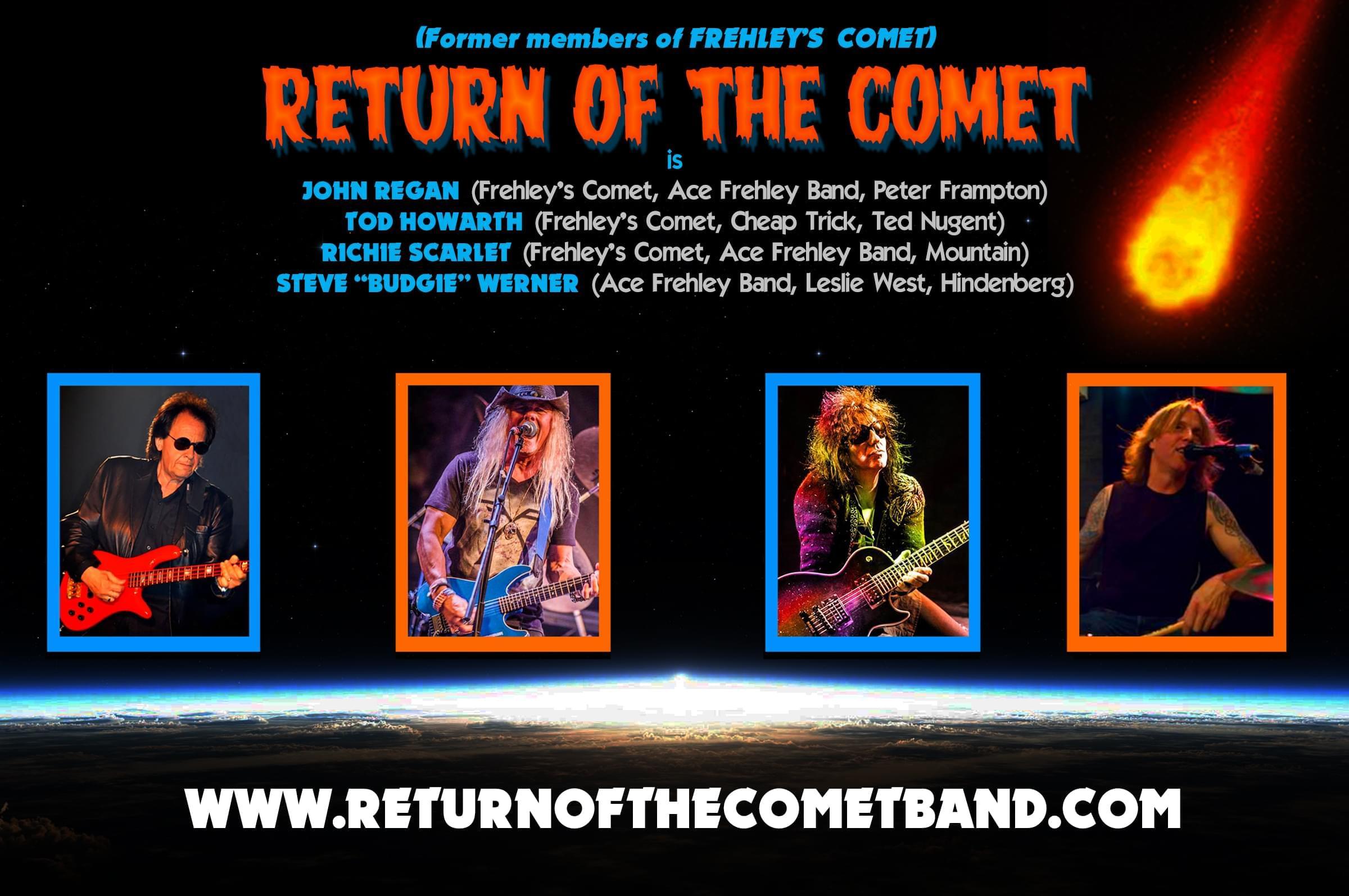 Return Of The Comet's John Regan