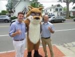 Spot the Fox in Darien 7/31/19