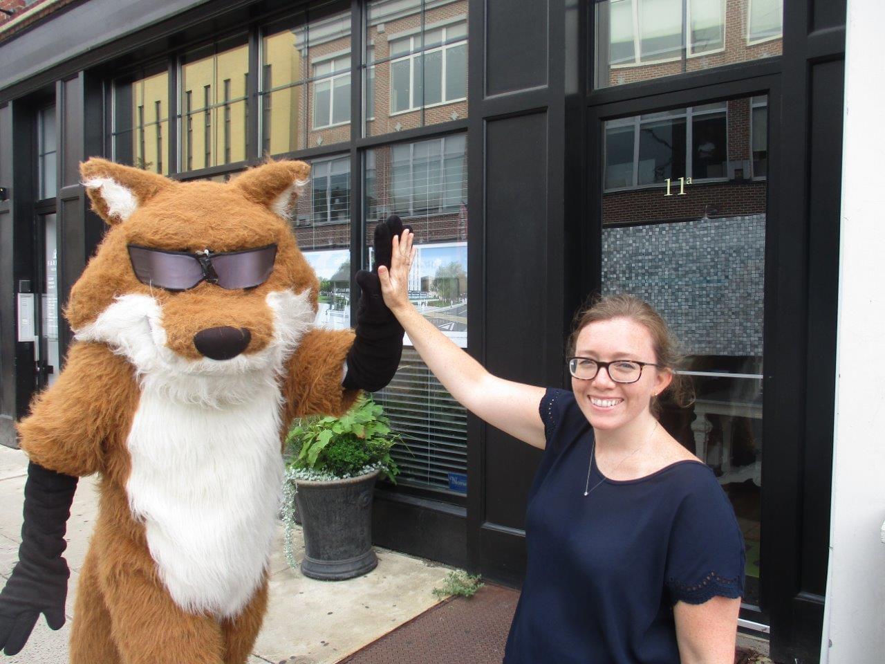 Spot the Fox in Norwalk 8/14/19