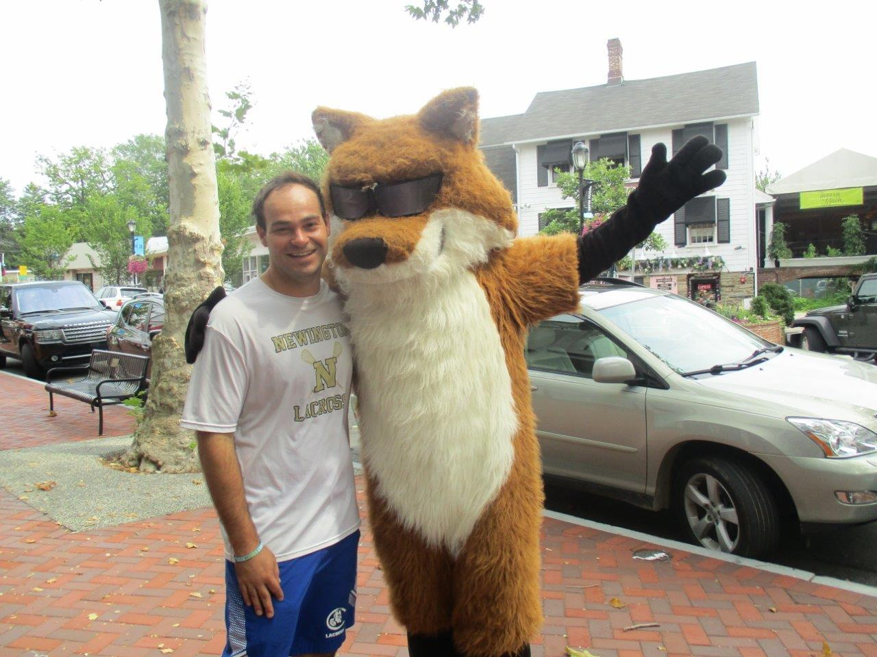 Spot the Fox in Westport 8/21/19