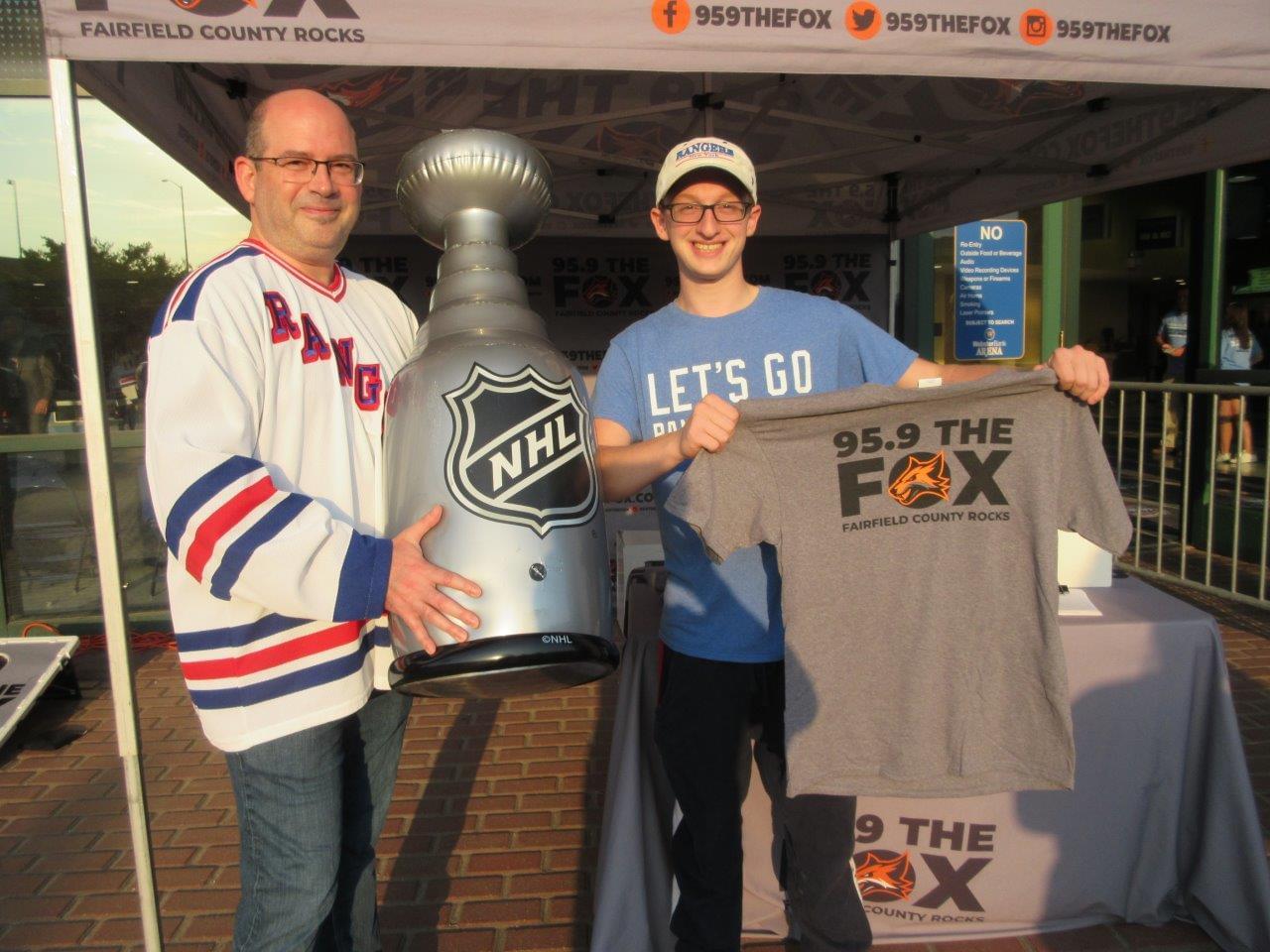 Rangers vs Islanders at Webster Bank Arena 9/28/19