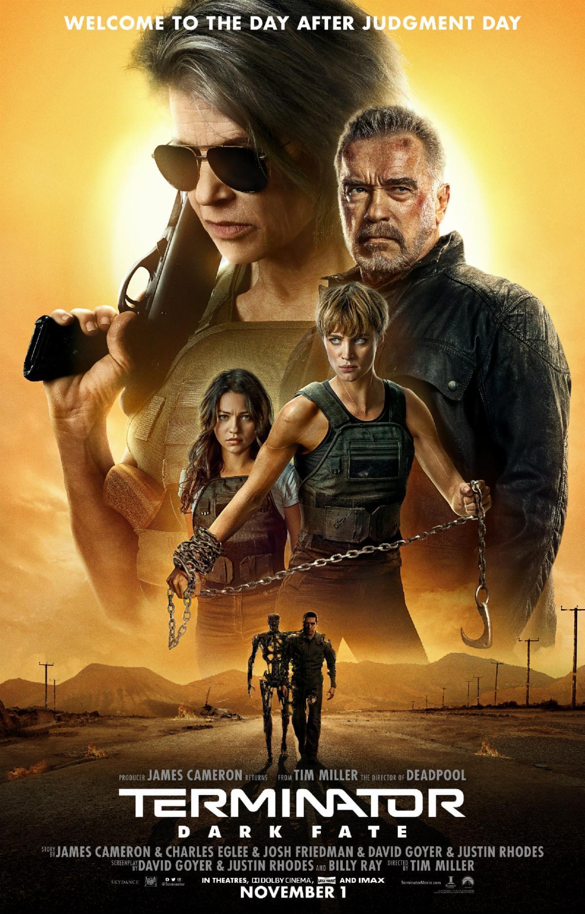 Enter to win tickets to THE FOX Screening of Terminator Dark Fate
