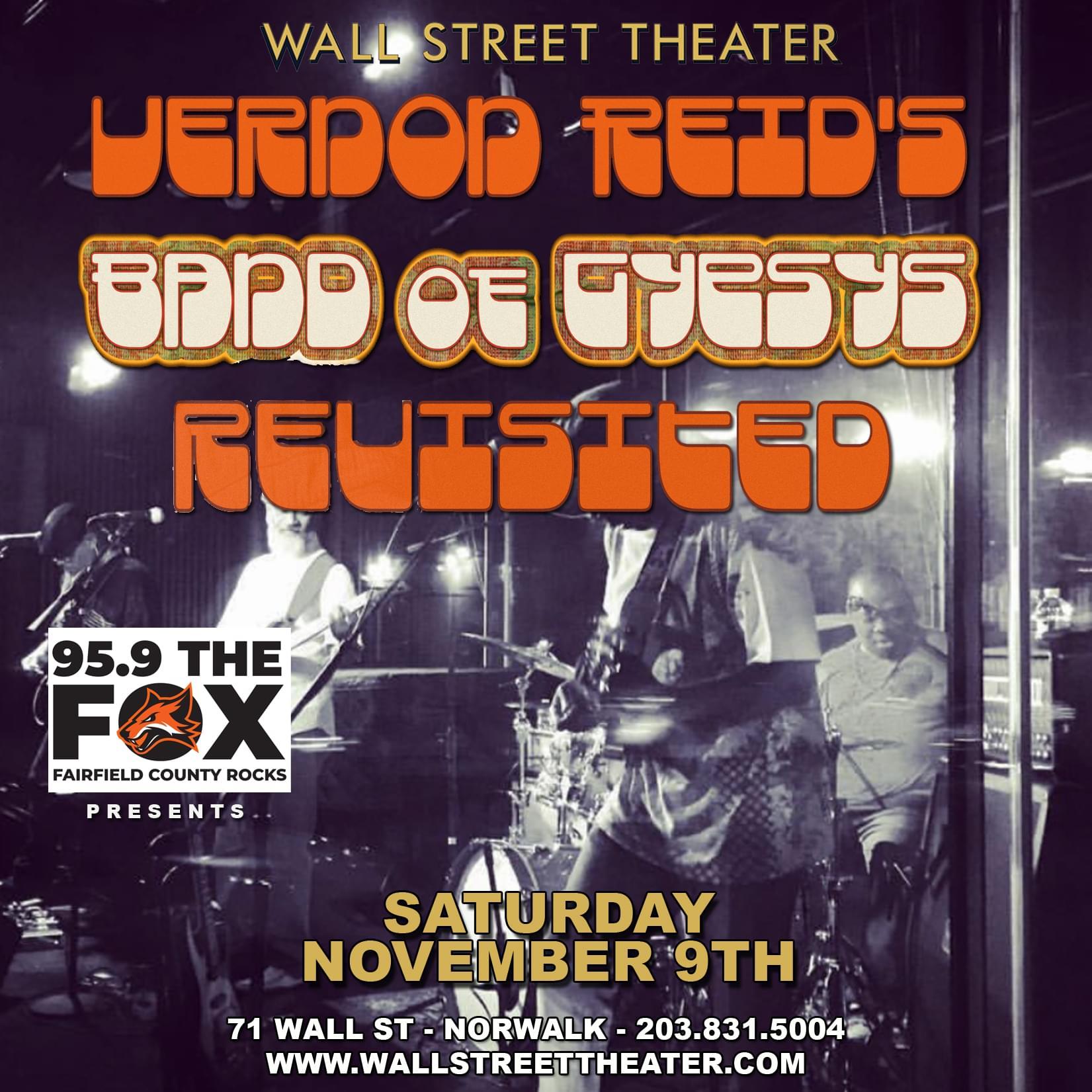 Win tickets to Living Colour's Vernon Reid