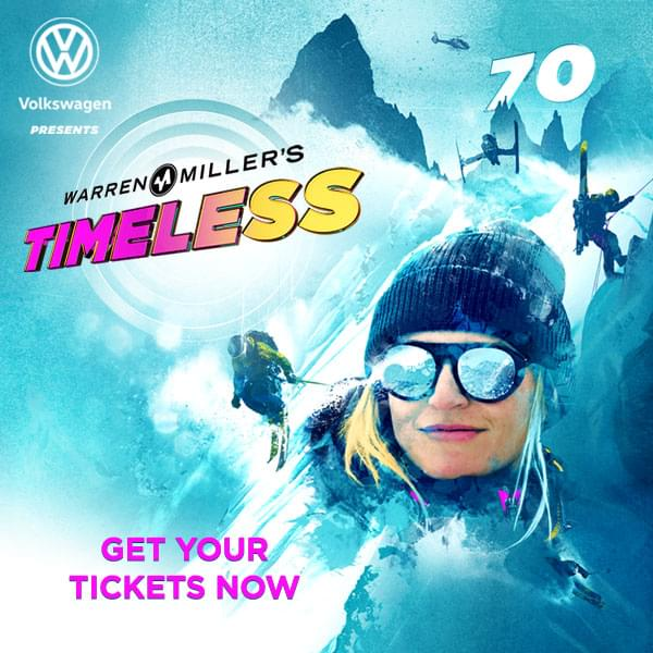 Enter to win a pair of Skis and tickets to Warren Miller's Timeless
