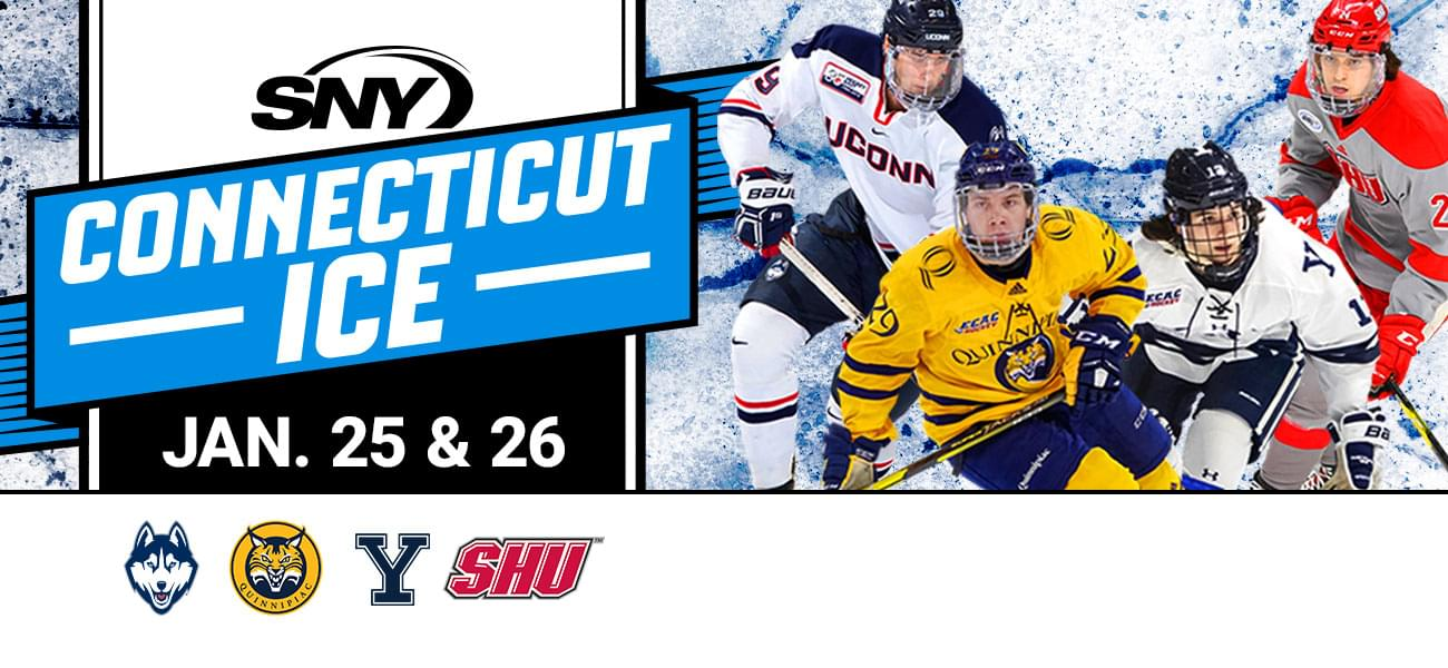 Win tickets to SNY Connecticut Ice: Collegiate Hockey Tournament