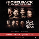 Win tickets to Nickleback