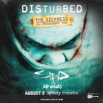 Enter to win tickets to Disturbed: 20th Anniversary of The Sickness