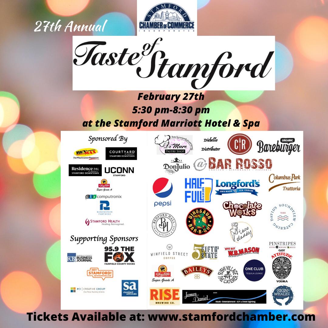 27th Annual Taste of Stamford