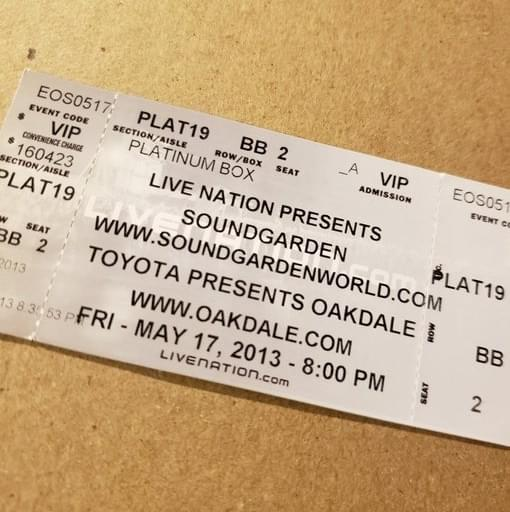 Throwback Concert: Soundgarden at Toyota Oakdale Theatre 2013