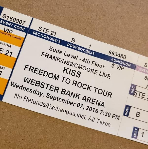 Throwback Concert: KISS at Webster Bank Arena 2016