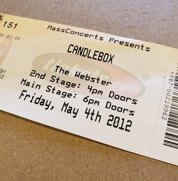 Throwback Concert: Candlebox at The Webster 2012