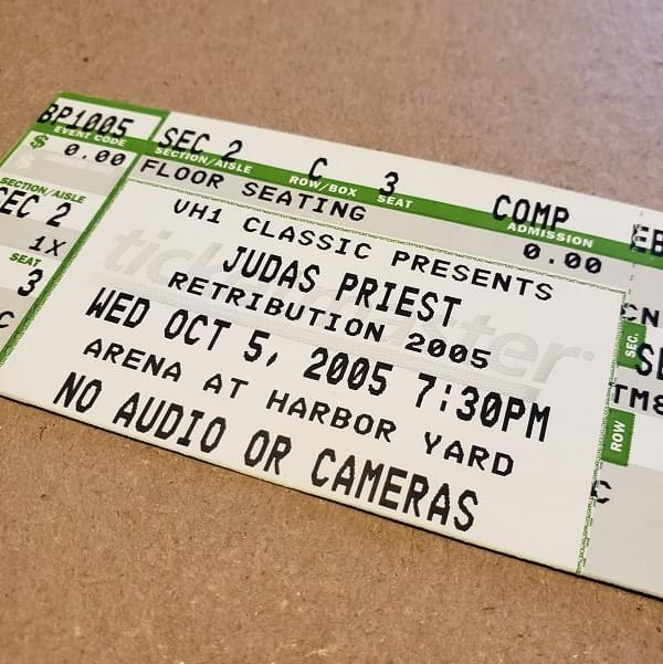 Throwback Concert: Judas Priest at Arena at Harbor Yard 2005