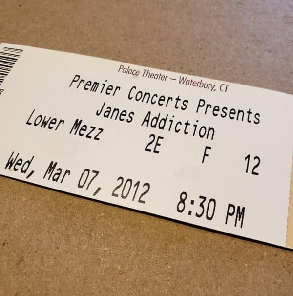 Throwback Concert: Jane's Addiction at Palace Theater 2012