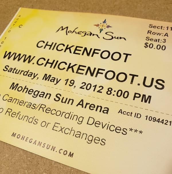 Throwback Concert: Chickenfoot at Mohegan Sun Arena 2012