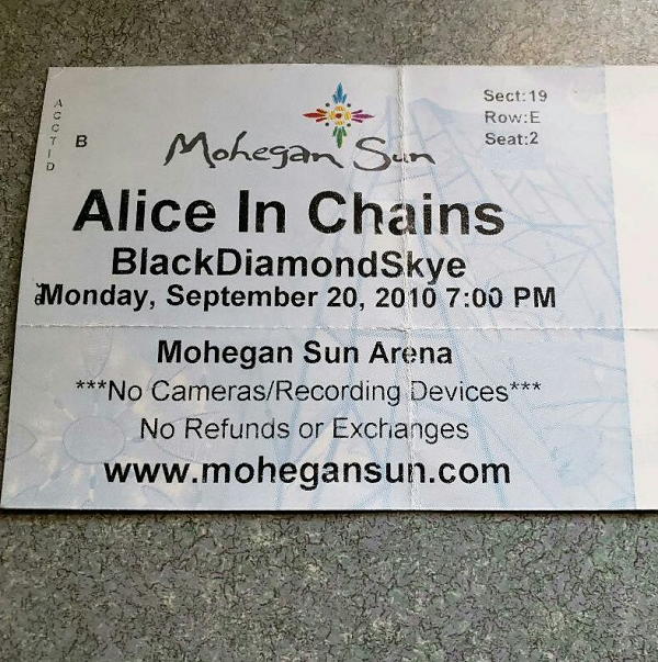 Throwback Concert: Alice In Chains at Mohegan Sun 2010