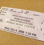 Throwback Concert: Iron Maiden at XFINITY Theatre 2006
