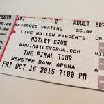 Throwback Concert: Mötley Crüe at Webster Bank Arena 2015