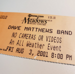 Throwback Concert: Dave Matthews Band at The XFINITY Theatre 2001
