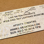 Throwback Concert: Kiss and Def Leppard at The XFINITY Theatre 2014
