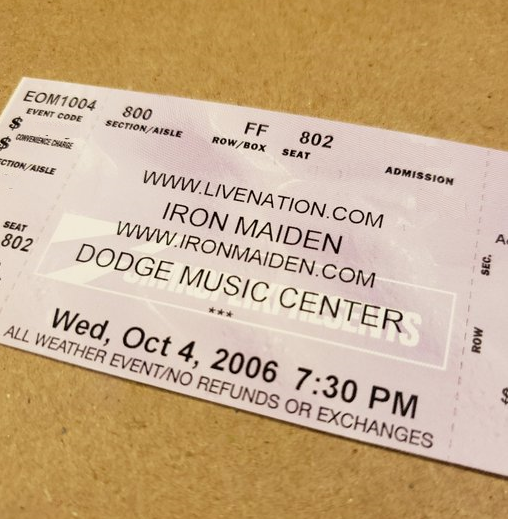 Throwback Concert: Iron Maiden at The XFINITY Theatre 2006