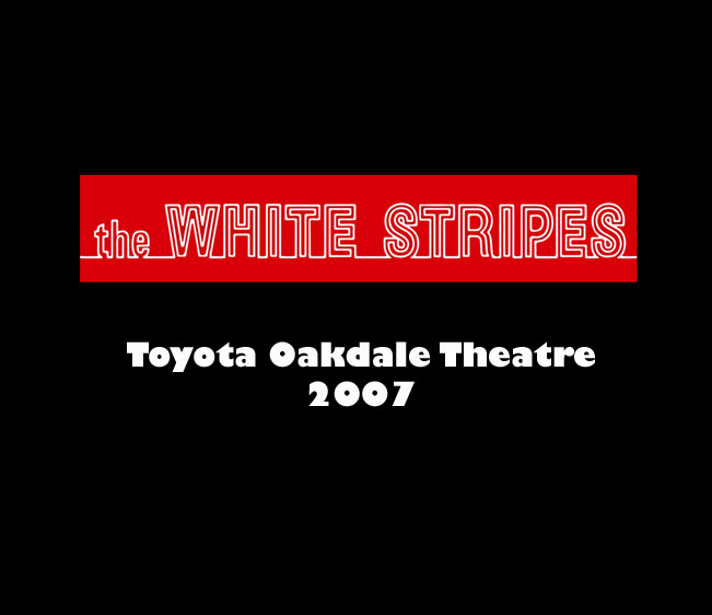 Throwback Concert: The White Stripes at Toyota Oakdale Theatre 2007