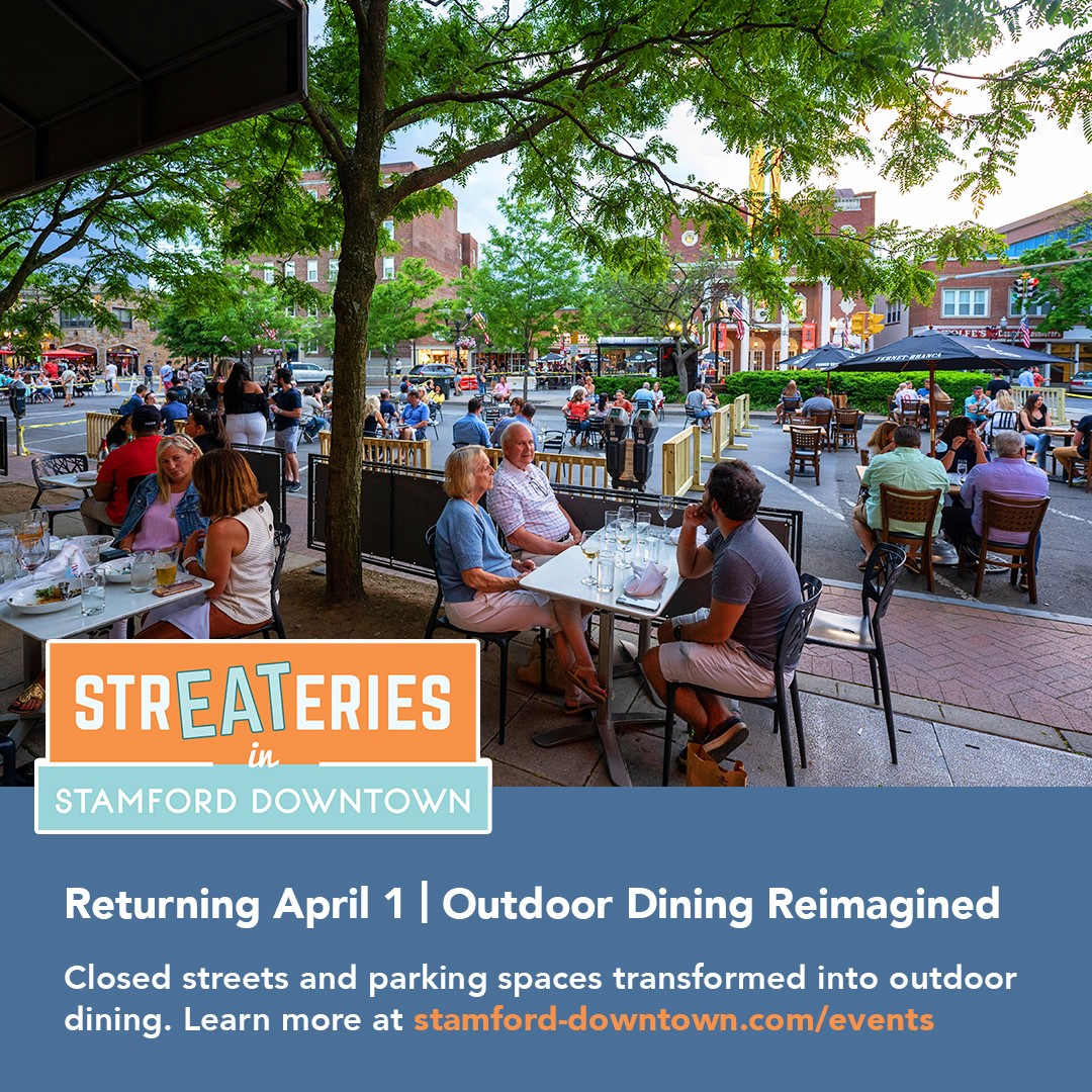 StrEATeries in Stamford Downtown