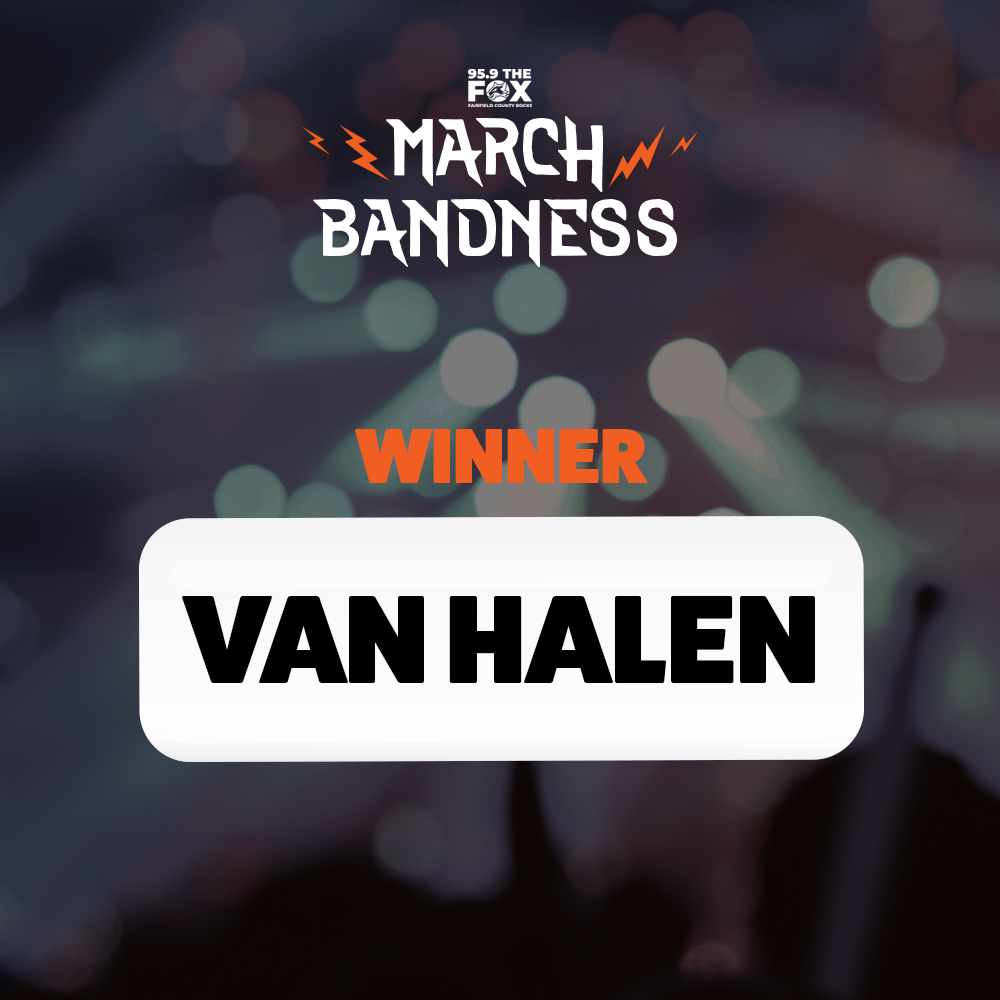 Congratulations Van Halen!