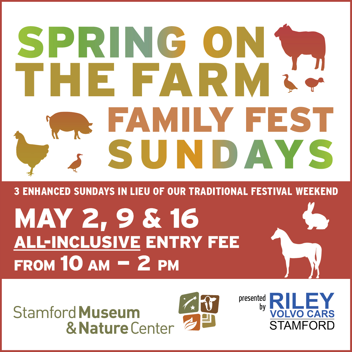Spring on the Farm Family Fest Sundays