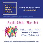 Westport Young Woman's League 42nd Minute Man Race