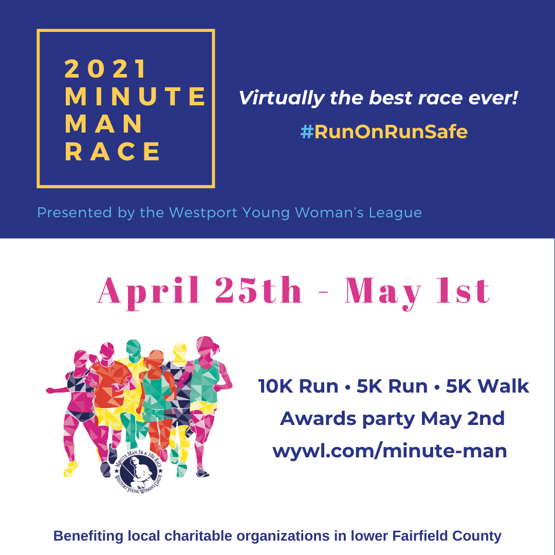 Westport Young Woman's League 42nd Minute Man Race