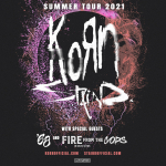 Win tickets to Korn with special guest Staind