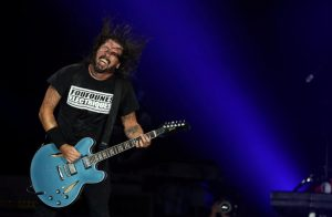 FILE PHOTO: Dave Grohl of Foo Fighters band performs during the Rock in Rio Music Festival in Rio de Janeiro