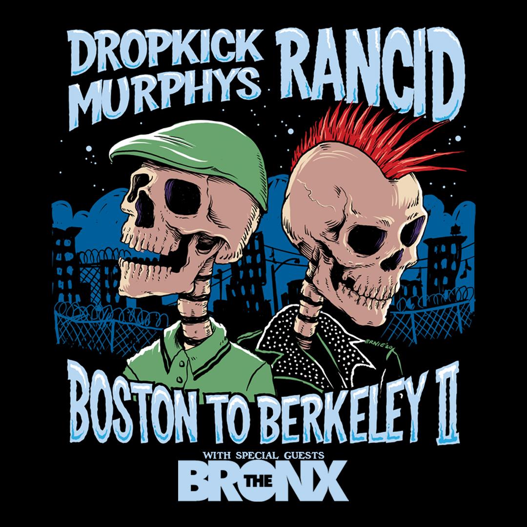 Win tickets to Dropkick Murphys and Rancid