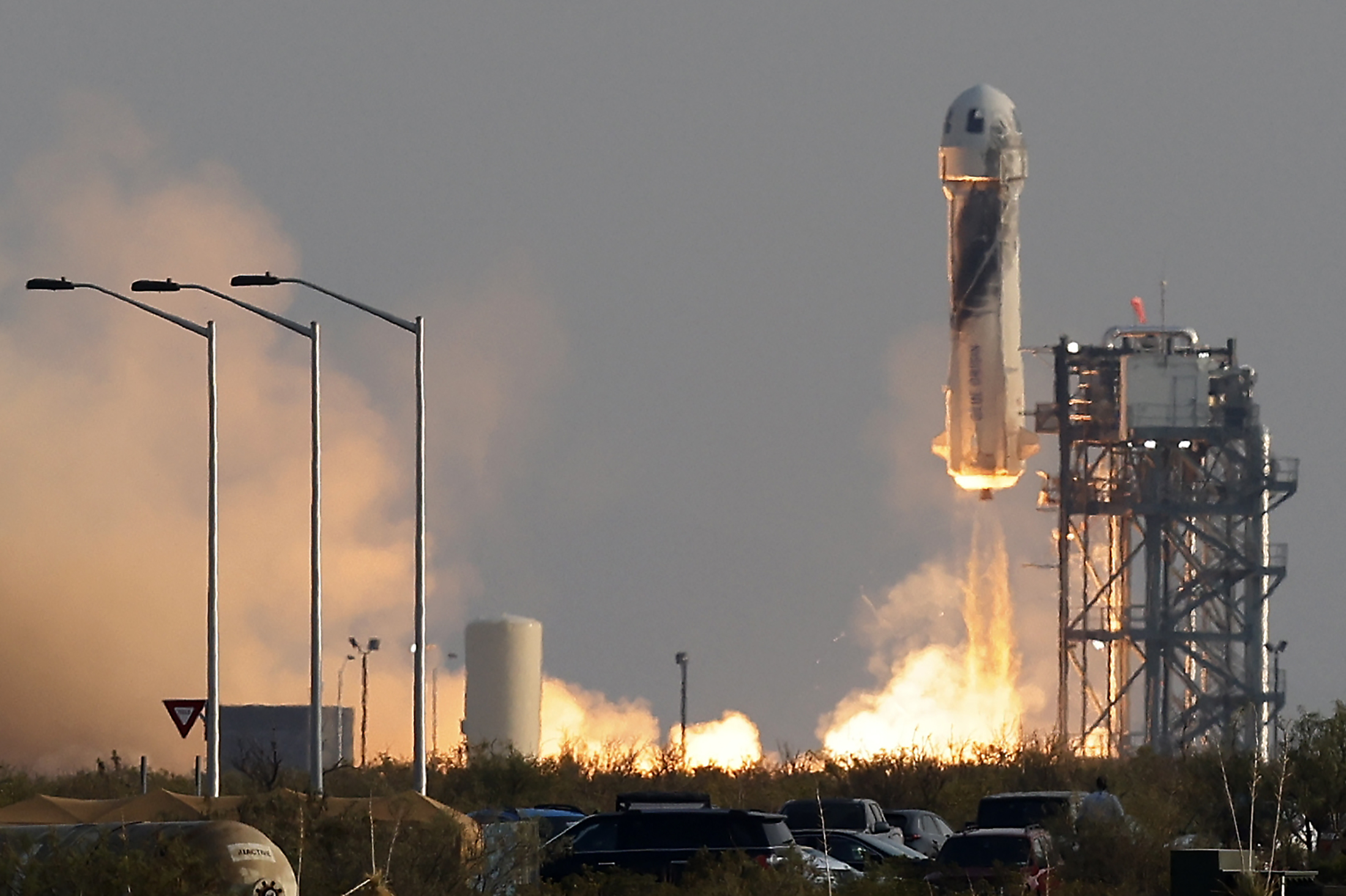 PODCAST – Tuesday, July 20: Jeff Bezos Space Launch; Dire Straits Guitarist Jack Sonni