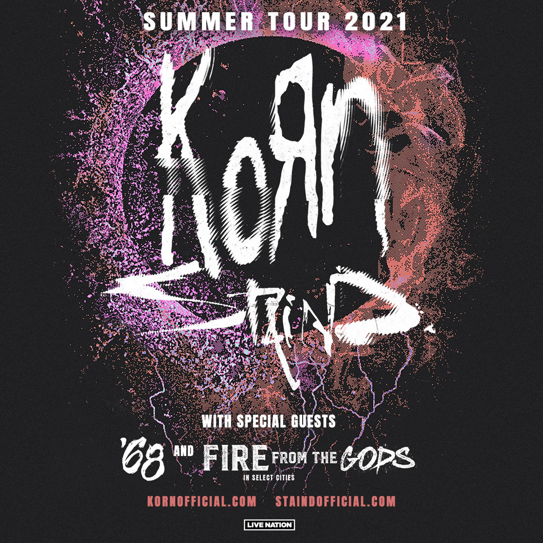 Enter to win tickets to Korn with Staind